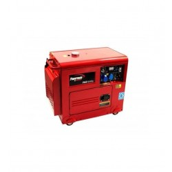 GROUPE ELECTROGENE PMD5050s +AVR, Tri, 400/230V, 50Hz, Lifter Engine, Dém. Elec.