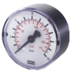 Manomètre 0-12 bar Ø 48 mm